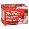 Children's Tylenol Chewables, Fever & Pain Relief 20 Tablets