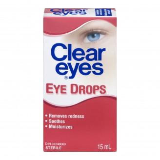 Clear Eyes Lubricating Eye Drops