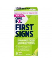 Cold-FX First Signs