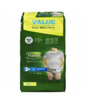 Depend  Fit-Flex Large Maximum Absorbency Underwear For Men Value Pack
