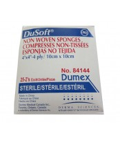 Derma Sciences Dusoft Non Woven Sponges