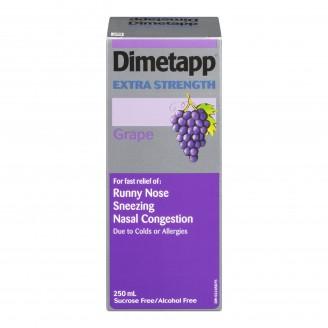 Dimetapp Extra Strength