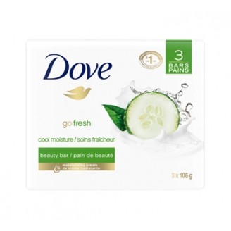Dove Cool Moisture Cucumber and Green Tea Beauty Bar