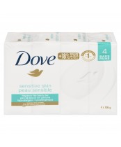 Dove Fragrance Free Sensitive Skin Beauty Bar