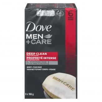 Dove Men+Care Deep Clean Body + Face Bar