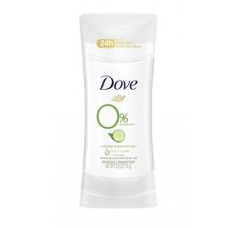 Dove Zero Aluminium Cucumber & Green Tea Deodorant