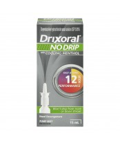 Drixoral No Drip with Cooling Menthol Nasal Spray