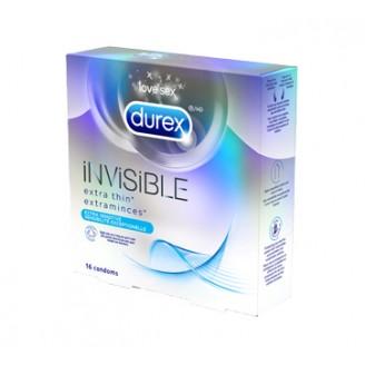 Durex Invisible Extra Thin Extra Sensitive Condoms