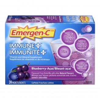 Emergen-C Immune Plus Effervescent Powder