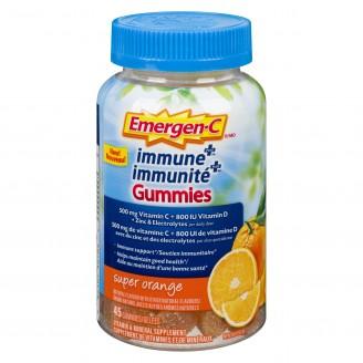 Emergen-C Immune Plus Gummies Vitamin C Immune supplement