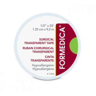 Formedica Surgical Transparent Tape 1/2 Inch