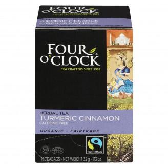 Four O'Clock Turmeric Cinnamon Herbal Tea
