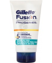Gillette Fusion ProSeries Irritation Defense Soothing Face Wash