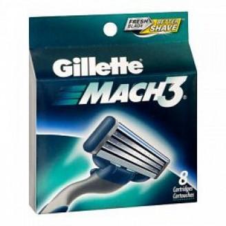 Gillette Mach 3 Razor - Replacement Blades