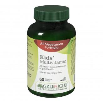 Greeniche Kids Multivitamin Chewable Tablets