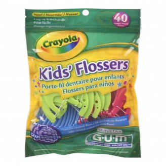 GUM Crayola Flossers