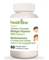 health One Children's Chewable Multiple Vitamins With Extra C