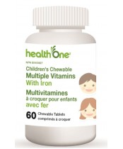 health One Children's Chewable Multiple Vitamins With Iron