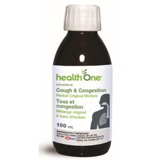 health One Cough & Congestion Herbal Original Mixture