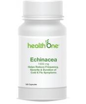 health One Echinacea Capsules 1000 mg