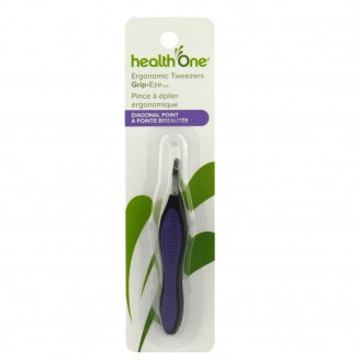 health One Grip-Eze Ergonomic Tweezers Diagonal Point