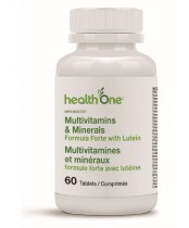 health One Multivitamins and Minerals Formula Forte with Lutein