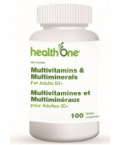 health One Multivitamins and Multiminerals for Adults 50+