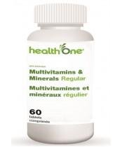 health One Multivitamins and Multiminerals Regular Tablets