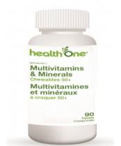health One Multivitamins & Minerals Chewables 50+