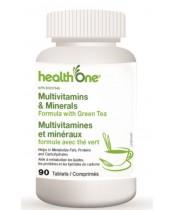 health One Multivitamins & Minerals Formula with Green Tea