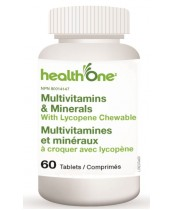 health One Multivitamins & Minerals With Lycopene Chewable