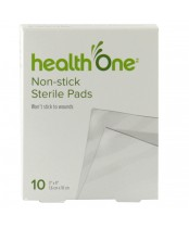 health One Non-Stick Sterile Gauze Pads