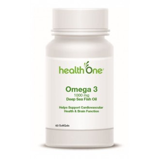health One Omega 3 Softgels 1000 mg From Deep Sea Fish Oil