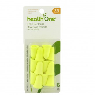 health One Soft Foam Ear Plugs