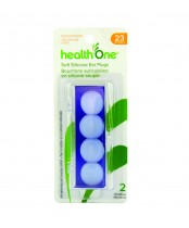 health One Soft Silicone Ear Plugs