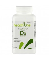 health One Vitamin D 1000IU Tab 90's