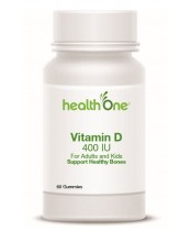 health One Vitamin D 400 IU Gummies For Adults & Kids