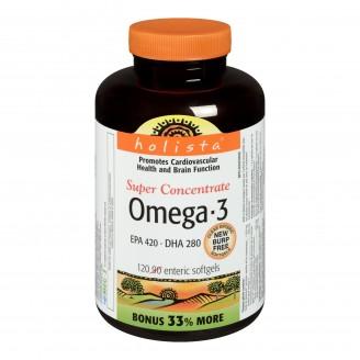 Holista Omega-3 Super Concentrate Enteric Softgels Bonus Size