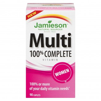 Jamieson 100% Complete Multi-Vitamin for Women