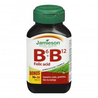 Jamieson  B6 B12 & Folic Acid