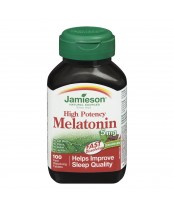 Jamieson High Potency Melatonin 5 mg Fast-Dissolving Tablets
