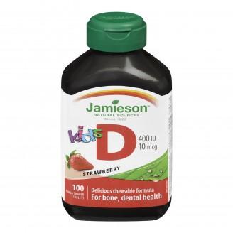 Jamieson Kid's Chewable Vitamin D 400 IU