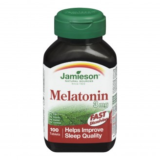 Jamieson Melatonin 3 mg Fast-Dissolving Tablets
