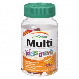Jamieson Multi Viitamin Gummies For Kids
