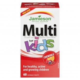 Jamieson Multi Vitamin Chewable For Kids