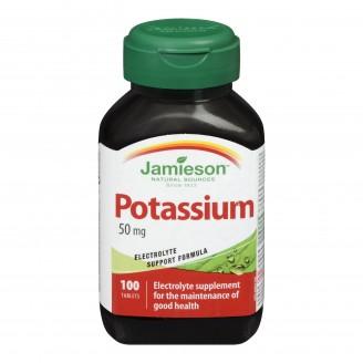 Jamieson Potassium 50 mg