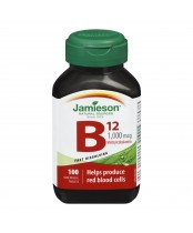 Jamieson Vitamin B12 1,000 mcg Sublingual Tablets (Methylcobalamin)