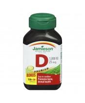 Jamieson Vitamin D 1000 IU  Bonus Pack