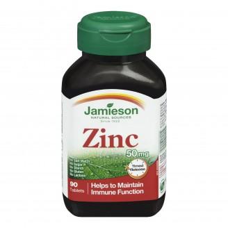 Jamieson Zinc 50 mg Timed Release