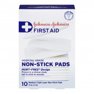 Johnson & Johnson First Aid Non Stick Pads